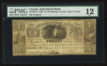 Canadian Currency: , Toronto, UC - The Agricultural Bank $4 Nov. 1, 1835 Ch. # 20-12-02-10. ...