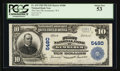 National Bank Notes:Wyoming, Kemmerer, WY - $10 1902 Plain Back Fr. 633 The First NB Ch. # 5480....