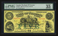 Canadian Currency: , Toronto, ON - The Bank of Toronto $5 Oct. 1, 1929 Ch. # 715-22-22. ...