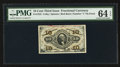 Fractional Currency:Third Issue, Fr. 1252 10¢ Third Issue PMG Choice Uncirculated 64 EPQ.. ...