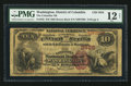 National Bank Notes:District of Columbia, Washington, DC - $10 1882 Brown Back Fr. 482 The Columbia NB Ch. # 3625. ...