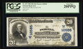 National Bank Notes:Wyoming, Powell, WY - $20 1902 Plain Back Fr. 657 The Powell NB Ch. #(W)10565. ...