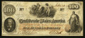 Confederate Notes:1862 Issues, T41 $100 1862 Issued at San Antonio, TX.. ...