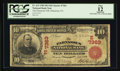 National Bank Notes:Pennsylvania, Parnassus, PA - $10 1902 Red Seal Fr. 613 The Parnassus NB Ch. #(E)7363. ...