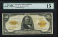Large Size:Gold Certificates, Fr. 1200 $50 1922 Gold Certificate PMG Choice Fine 15.. ...