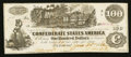 Confederate Notes:1862 Issues, T39 $100 1862 Issued at Houston, TX. . ...
