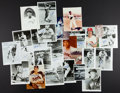 Baseball Collectibles:Photos, Baseball Greats and Hall of Famers Signed Photographs Lot of 25....