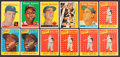 Baseball Cards:Lots, 1958 Topps Baseball Collection (63) With Stars. ...