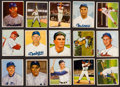 Baseball Cards:Lots, 1950 Bowman Baseball Collection (38) Mostly Stars & HoFers. ...