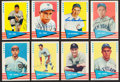 "Autographs:Sports Cards, Signed 1961 Fleer ""Baseball Greats"" Collection (8). ..."
