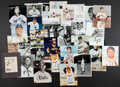 Autographs:Photos, Baseball Greats Signed Photograph Collection Of 30....