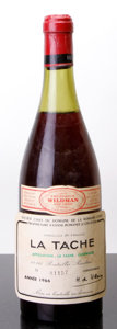 Red Burgundy, La Tache 1966 . Domaine de la Romanee Conti . 4cm, lbsl,lwasl, #01157. Bottle (1). ... (Total: 1 Btl. )