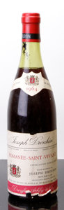 Red Burgundy, Romanee St. Vivant 1964 . J. Drouhin . 3.5cm, lgsl. Bottle(1). ... (Total: 1 Btl. )