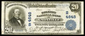 National Bank Notes:Tennessee, Knoxville, TN - $20 1902 Plain Back Fr. 654 The Holston NB Ch. #(S)4648. ...