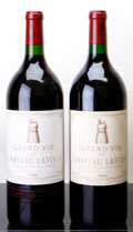 Red Bordeaux, Chateau Latour 1996 . Pauillac. 1lbsl, 2lcc. Magnum (2). ...(Total: 2 Mags. )