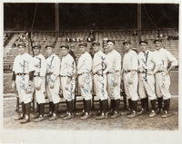 1927 New York Yankees Pitching Staff Signed Photograph