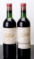 Red Bordeaux, Chateau Margaux 1959 . Margaux. 1vhs, 1hs, 1ltl, 2wasl,1lcc, 1hcc, 1lnc. Bottle (2). ... (Total: 2 Btls. )