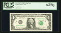 Fr. 1914-F* $1 1988 Federal Reserve Note. PCGS Gem New 66PPQ