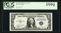Small Size:Silver Certificates, Fr. 1607* $1 1935 Silver Certificate. PCGS Superb Gem New 67PPQ.. ...
