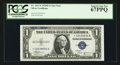 Small Size:Silver Certificates, Fr. 1611* $1 1935B Silver Certificate. PCGS Superb Gem New 67PPQ.. ...