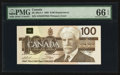 Canadian Currency: , BC-60aA-i $100 1988 Replacement Note. ...