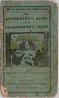 Books:Children's Books, [Children's Illustrated Book]. The Butterfly's Ball, and theGrasshopper's Feast. Wm. Raine, [n. d.]. Wear and s...
