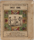 Books:Children's Books, [Children's Illustrated Book]. Sweet Home. Turner &Fisher, [n. d.]. Some rubbing and toning to wrappers. Spine ...