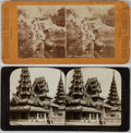 Books:Photography, Group of Two Stereoscope Cards. Various, [n. d.]. Minor rubbing and soiling. Overall very good....