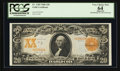 Large Size:Gold Certificates, Fr. 1185 $20 1906 Gold Certificate PCGS Apparent Very Choice New64.. ...