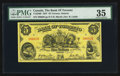 Canadian Currency: , Toronto, ON - The Bank of Toronto $5 Jan. 2, 1937 Ch. # 715-24-04....
