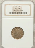 Liberty Nickels: , 1912 5C MS64 NGC. NGC Census: (377/138). PCGS Population (463/194).Mintage: 26,236,714. Numismedia Wsl. Price for problem ...