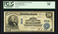 National Bank Notes:Tennessee, Sparta, TN - $20 1902 Plain Back Fr. 652 The First NB Ch. # 3614....