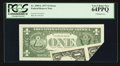 Error Notes:Miscellaneous Errors, Fr. 1909-L $1 1977 Federal Reserve Note. PCGS Very Choice New 64PPQ.. ...