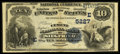 National Bank Notes:Pennsylvania, Siegfried, PA - $10 1882 Date Back Fr. 545 The Cement NB Ch. #(E)5227. ...