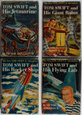 Books:Children's Books, Victor Appleton II. Group of Four Tom Swift Books. Grosset &Dunlap, 1954. All volumes in dj. Very good or better condition....(Total: 4 Items)