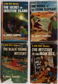 Books:Children's Books, Bruce Campbell. Group of Four Ken Holt Books. Grosset & Dunlap,1949-1952. Three volumes in dj. Very good or better conditio...(Total: 4 Items)