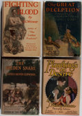 Books:Fiction, [Photoplay Editions]. Group of Four Books. Various, ca. 1915-1924.Good or better condition.... (Total: 4 Items)