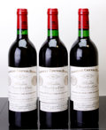 Red Bordeaux, Chateau Cheval Blanc 1983 . St. Emilion. 3lbsl, 1lscl. Bottle (3). ... (Total: 3 Btls. )