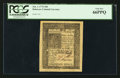 Colonial Notes:Delaware, Delaware January 1, 1776 18d PCGS Gem New 66PPQ.. ...