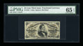 Fractional Currency:Third Issue, Fr. 1291 25c Third Issue PMG Gem Uncirculated 65 EPQ....