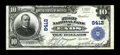 National Bank Notes:Colorado, Eads, CO - $10 1902 Plain Back Fr. 626 The First NB Ch. # 8412. ...