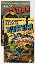 Golden Age (1938-1955):Science Fiction, Space Western #42 and 43 Group (Charlton, 1953).... (Total: 2 ComicBooks)