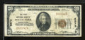 National Bank Notes:Pennsylvania, South Fork, PA - $20 1929 Ty. 1 The First NB Ch. # 6573. ...