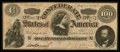 """Confederate Notes:1864 Issues, CT65 """"Havana"""" Counterfeit $100 1864. ..."""