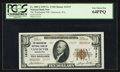 National Bank Notes:Washington, Vancouver, WA - $10 1929 Ty. 2 The Washington NB Ch. # 13137. ...