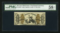 Fractional Currency:Third Issue, Fr. 1365 50¢ Third Issue Justice PMG Choice About Unc 58 EPQ.. ...