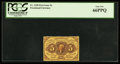 Fractional Currency:First Issue, Fr. 1228 5¢ First Issue PCGS Gem New 66PPQ.. ...