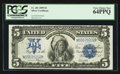Large Size:Silver Certificates, Fr. 281 $5 1899 Silver Certificate PCGS Very Choice New 64PPQ.. ...