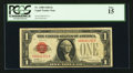 Small Size:Legal Tender Notes, Fr. 1500 $1 1928 Legal Tender Note. PCGS Fine 15.. ...