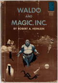 Books:Science Fiction & Fantasy, Robert A. Heinlein. Waldo and Magic, Inc. Doubleday, 1950. First edition, first printing. Mild rubbing to board with...